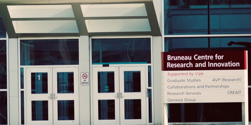 Bruneau Centre for Research and Innovation on the St. John's campus.
