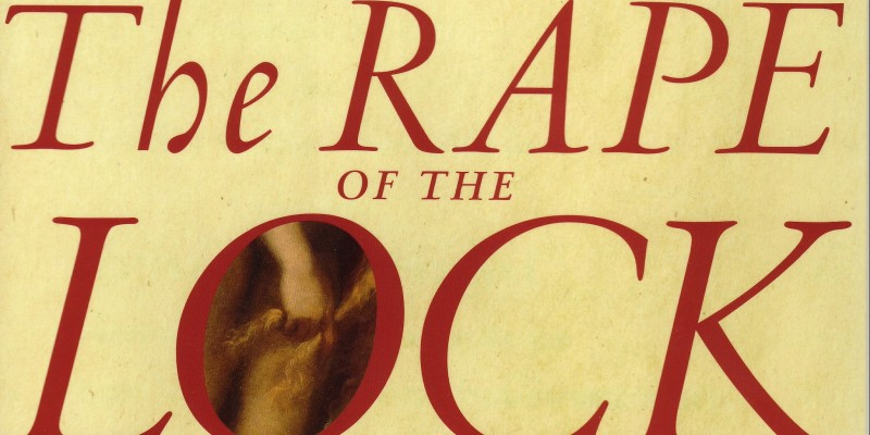 Rape of the Lock anniversary essays book cover