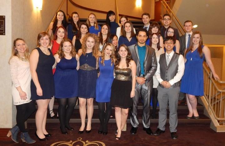 Memorial University pharmacy students at the 2016 Professional Development Week in Niagara Falls, Ont.