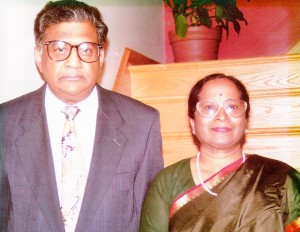 Dr. and Mrs. Satti Paddi and Parvati Reddy