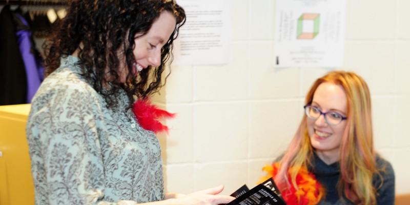 Volunteers - Tracy & Katie
