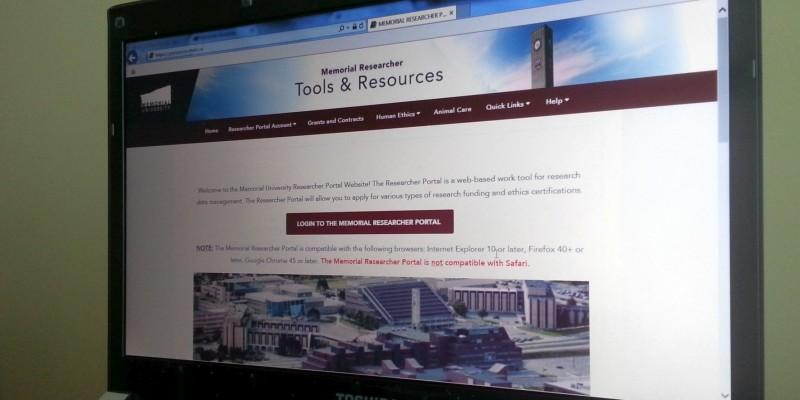 Since its province-wide launch in December, the Memorial Researcher Portal has caught on in a big way.