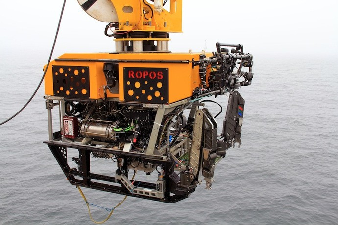 The Canadian remotely operated vehicle, ROPOS.