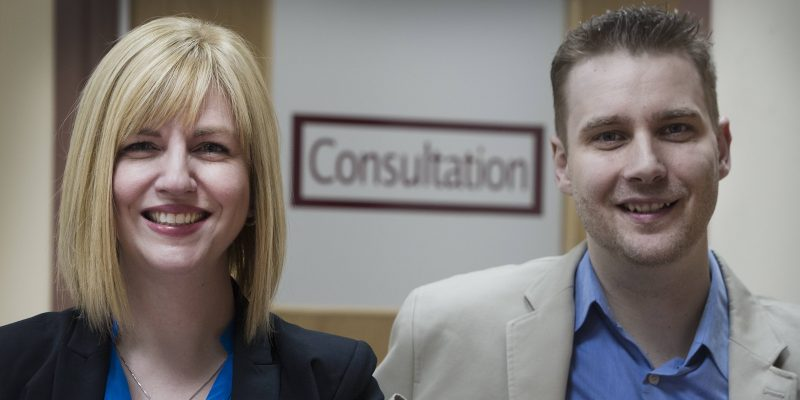 Dr. Debbie Kelly and Dr. Jason Kielly
