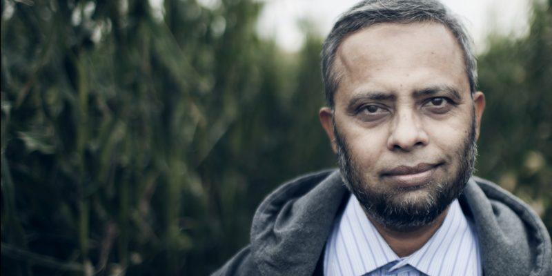 Soil scientist Dr. Joinal Abedin.
