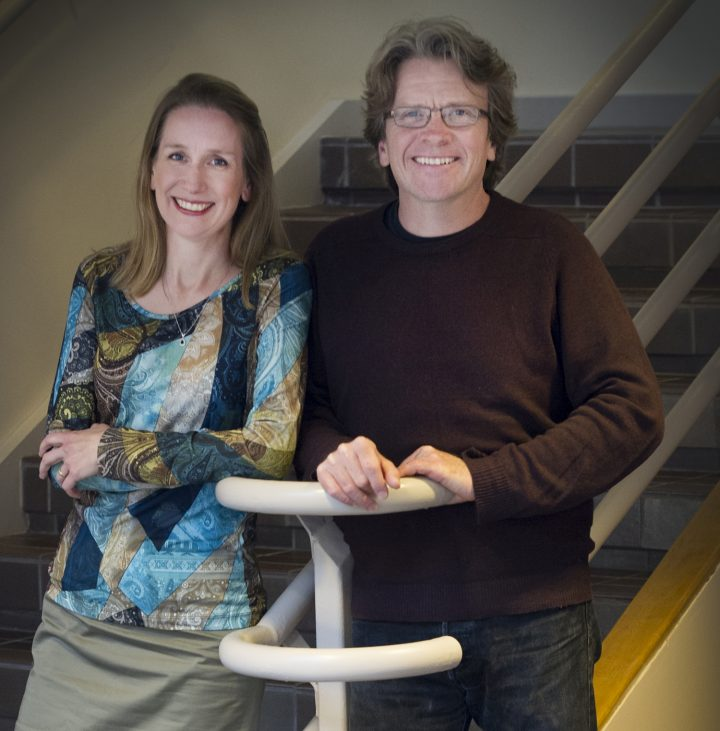 Dr. Nancy Dahn and Prof. Timothy Steeves