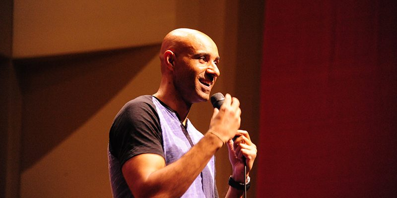 Comedian and Memorial alumnus, Trent McClellan