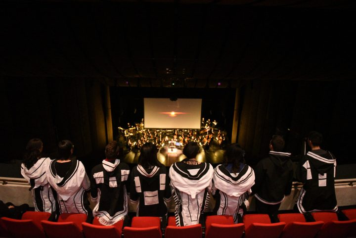 The view from the balcony during the Arctic Inspiration Awards in Winnipeg, Man., on Dec. 8.