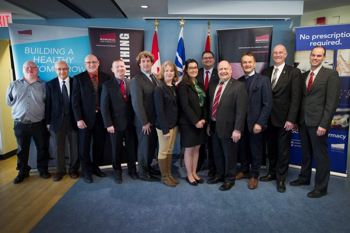 Memorial researchers received $680,000 from the Canada Foundation for Innovation's John R. Evans Leaders Fund.