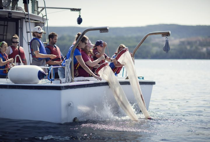 One new course will be a ship-based field course offered to students in their second year.