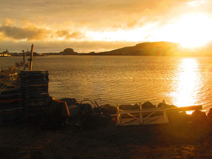 A beautiful Fogo Island scene.
