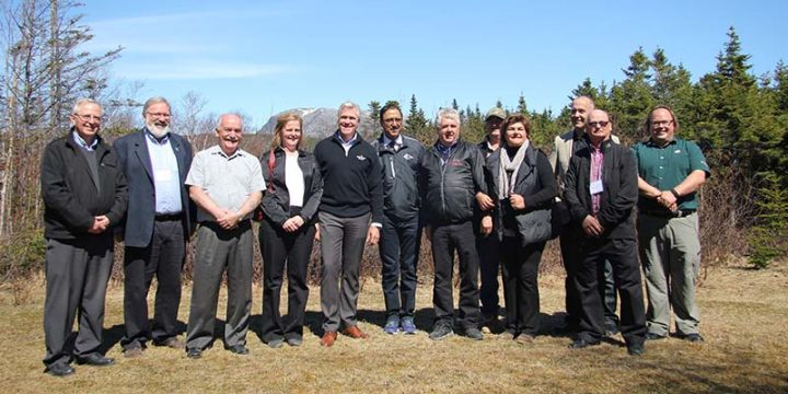 The provincial and federal governments announced an investment of more than $1 million in projects for the Bonne Bay Marine Station and Grenfell Campus recently.