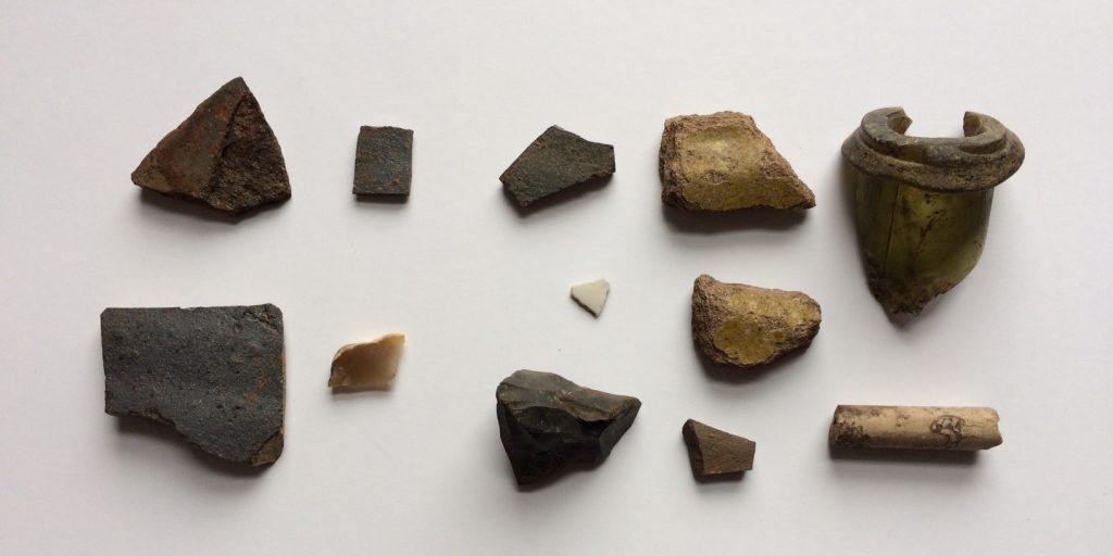 Findings from Anse a Bertrand, St. Pierre