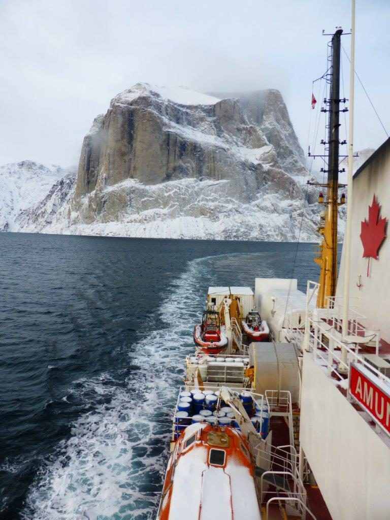 Amundsen 2015 cruise in Baffin Bay to evaluate seafloor biodiversity as part of ArcticNet. OFI will engage in similar activities to establish baseline conditions in key ecosystems.