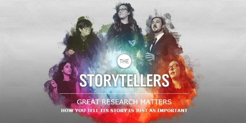 The Social Sciences and Humanities Research Council (SSHRC) has launched its 2018 Storytellers Contest.