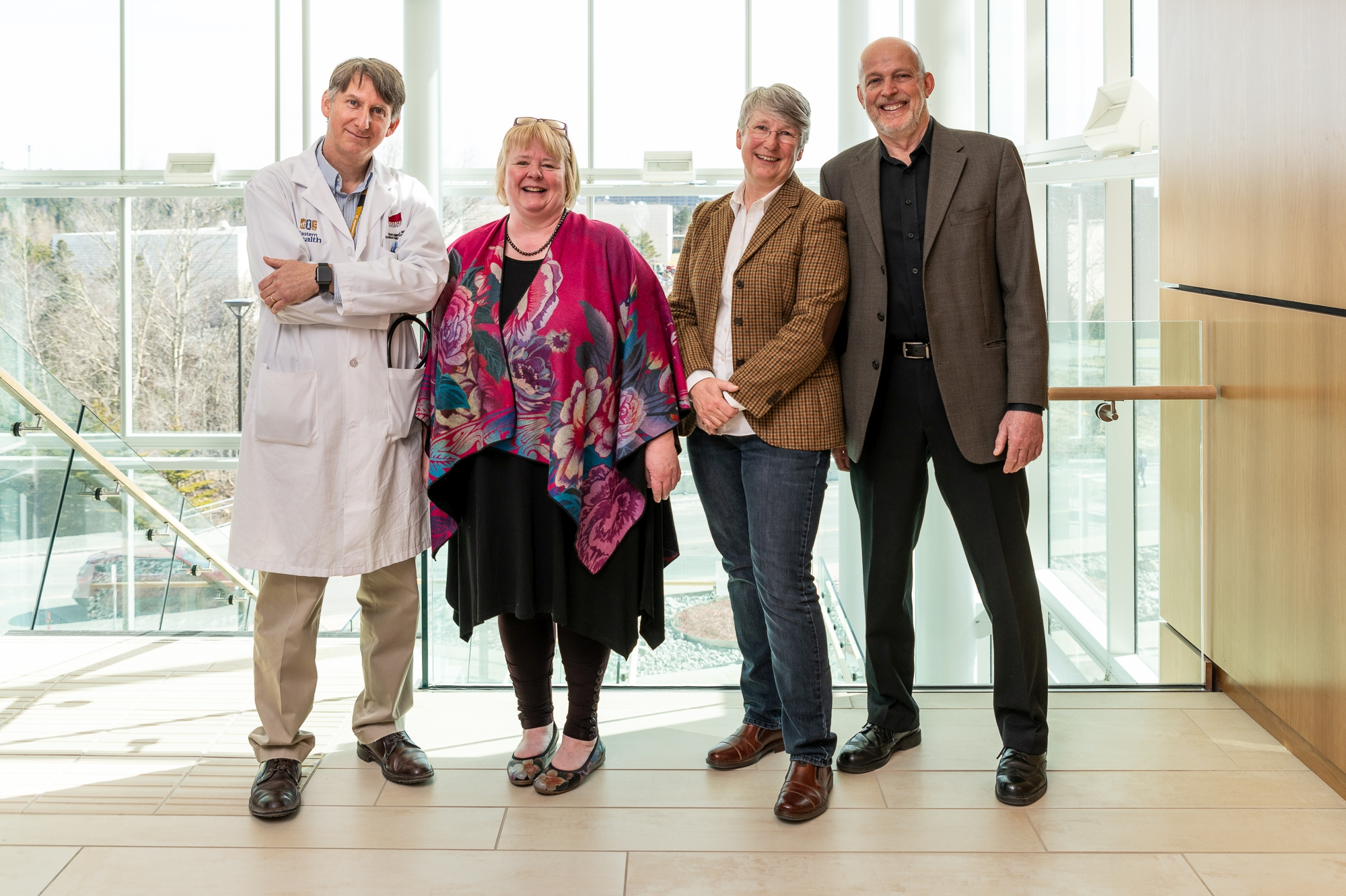 Drs. Sean Connors, Kathy Hodgkinson, Terry-Lynn Young and Daryl Pullman.