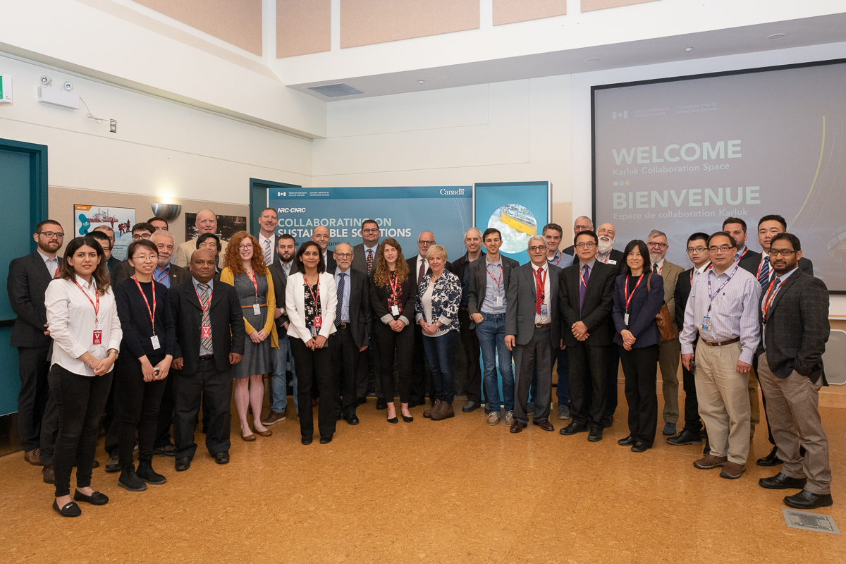 The Karluk Collaboration Space opening brought together researchers, students, government officials and business leaders.