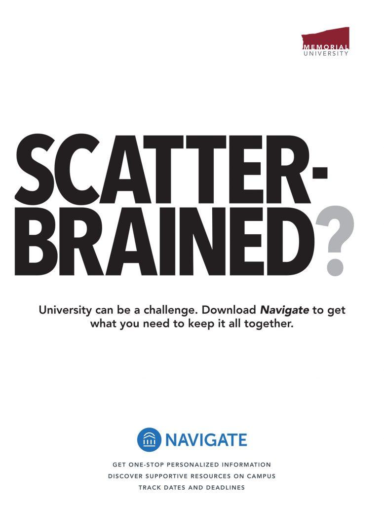 Navigate marketing poster