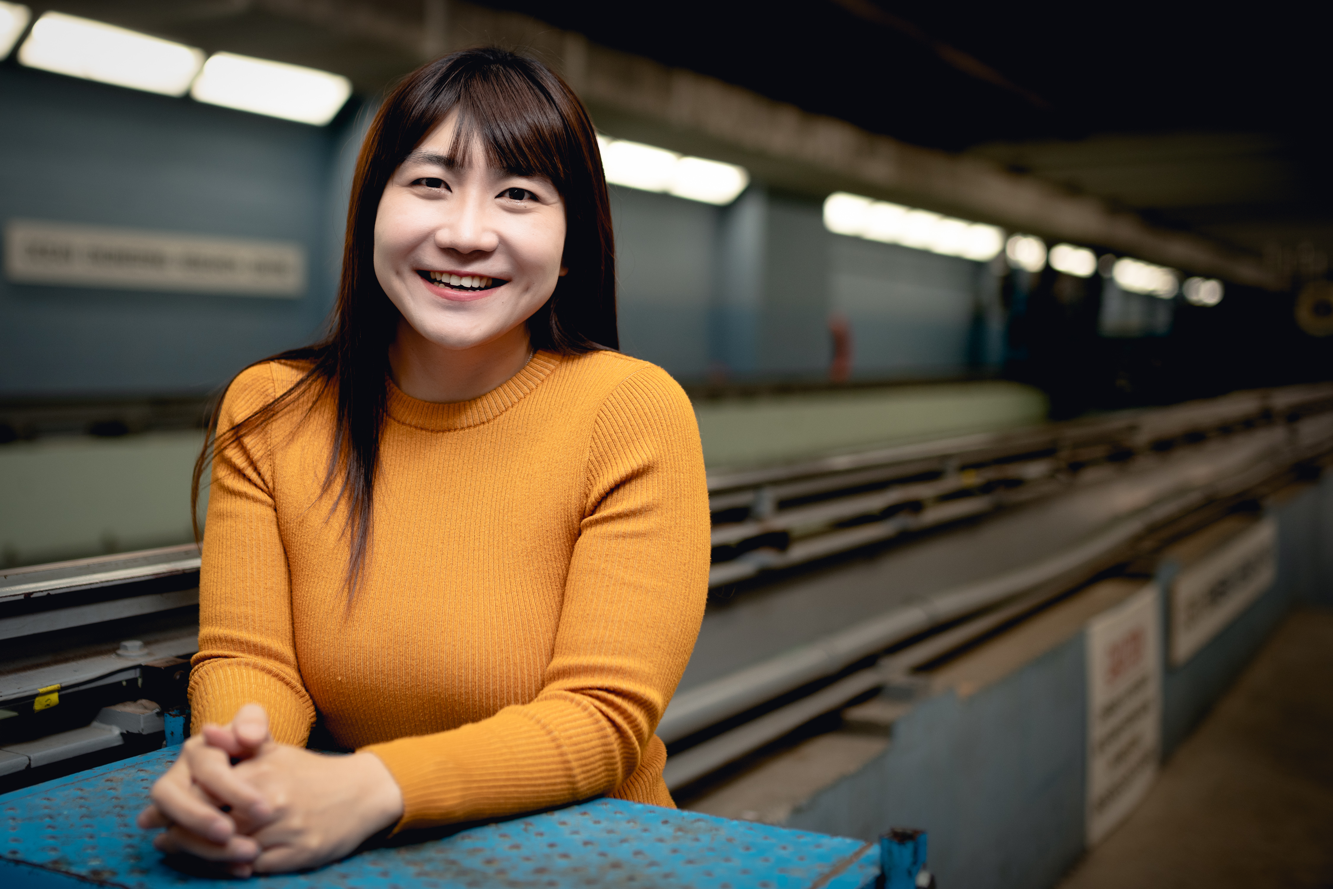 """Eonjoo Kim says she is """"so happy"""" to be at Memorial."""