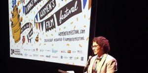Santiago Guzman at the 2019 St. John's International Women's Film Festival.